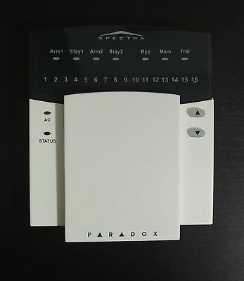 Paradox Spectra 1689 16 Zones LED Alarm Security Keypad Brand New Old Stock