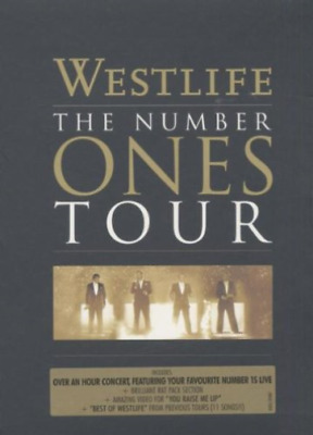 WESTLIFE-The Number Ones Tour DVD NUOVO