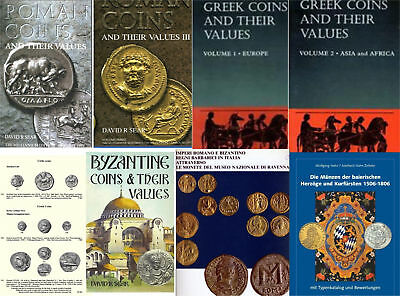 Ancient & Medieval Coins - 80 books and catalogs on DVD