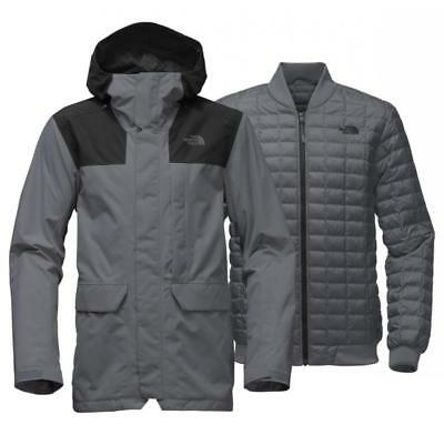ecbc81d9a9db The North Face Alligare Thermoball Triclimate Jacket Turbulence Grey Size  Large