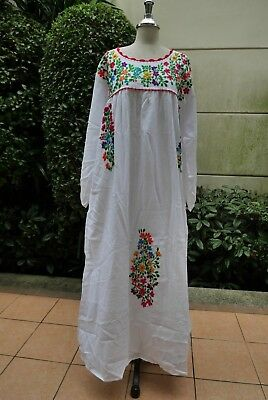 OAXACAN EMBROIDERED MEXICAN Dress - $110.00 | PicClick