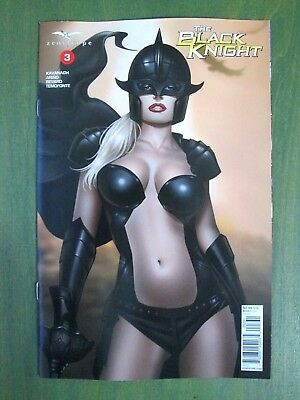 THE BLACK KNIGHT #3C (NM) KEITH GARVEY variant Zenescope 2018 Grimm Fairy Tales
