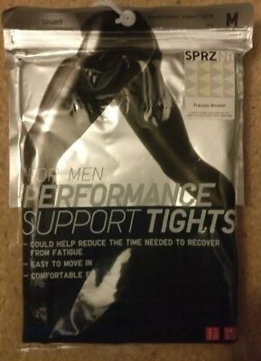 be325d05afac8 UNIQLO MEN AIRISM PERFORMANCE SUPPORT TIGHTS Size Medium - New ...
