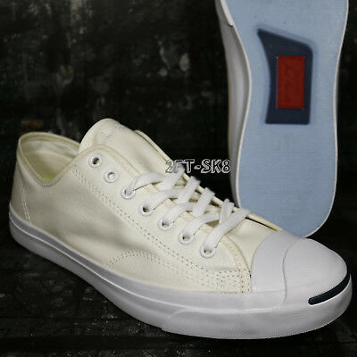 Converse Jack Purcell OX WHITE BEIGE MEN S SIZE 10.5 tennis SHOES E91165.211 594f56f05