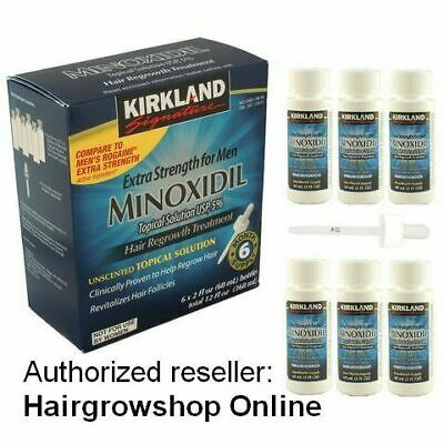 Kirkland Minoxidil 5% Lotion EU SHIPPING Hair regrowth Treatment 3 Month Supply