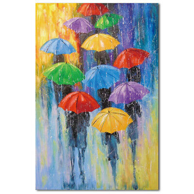 Modern Abstract  Unframed  Canvas Print Art Oil Painting Wall Picture Home kit
