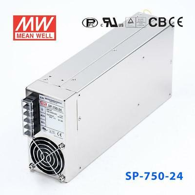 MEAN WELL SP-750-24 AC-DC Switching Enclosed Power Supply 24V 750W MeanWell