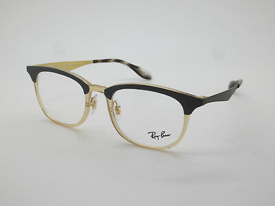 71f43d3c89 NEW Authentic Ray Ban RB 7112 5686 Grey Light Brown 51mm RX Eyeglasses