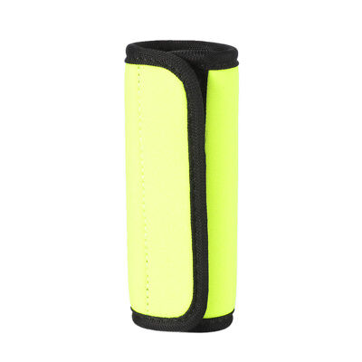 Yellow Luggage Handle Wrap Suitcase GripTravel Bag Comfort Leathercase Sheathing