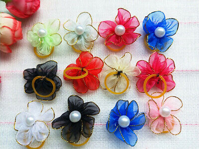 50PCS Handmade Designer Pet Dog Accessories Grooming Hair Bows For Dogs