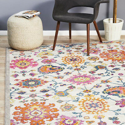 CARSTEN MULTI COLOUR TRADITIONAL VINTAGE DESIGN MODERN FLOOR RUG 200x290cm *NEW*