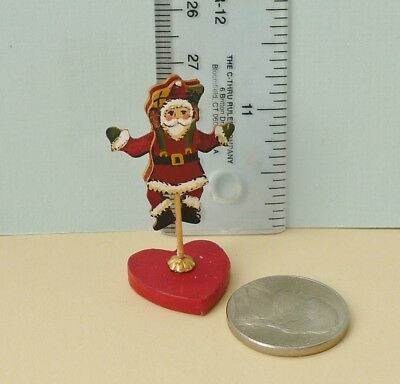 Cute 1:12 Inch Scale Karen Markland Santa With Moving Limbs