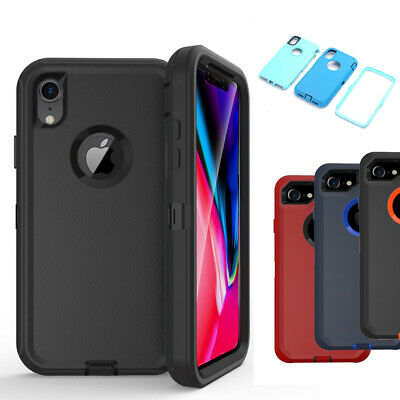 Hybrid Case Protective Defender Heavy Duty Shockproof Cover for iPhone XR/XS Max