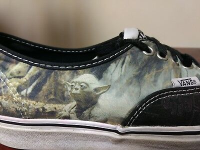 a5598a5ac768 VANS YODA ALOHA Star Wars Lace Up Sneakers Mens Size 6.5 Women s 8 ...