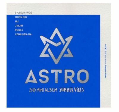 "K-POP ASTRO 2ND MINI ALBUM ""SUMMER VIBES"" [1PHOTOBOOK + 1CD] Free Tracking N"