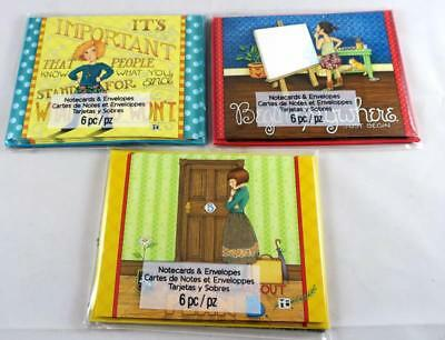 Set of 3 Packages Mary Engelbreit Note Cards with Envelopes NEW