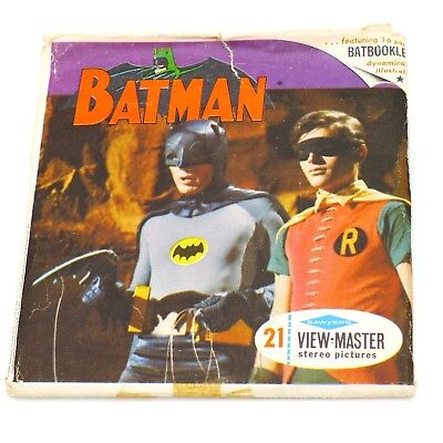 View-Master Packet # B 492 Batman in the Perfect Crime w/ book & 3 reels