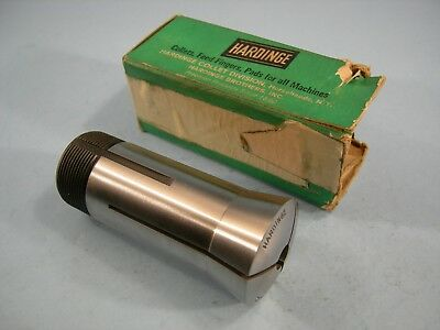 New  Hardinge 5-C Collet  43//64  7194L Round  with Internal Threads