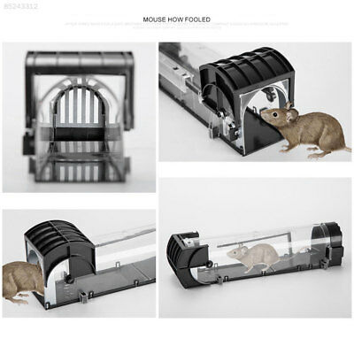 3053 Rat Trap Mouse Capture Cage Black Bait Device Catch Mice Tools Animal Kits