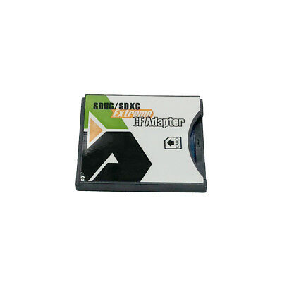 WiFi SD SDXC SDHC to Type II CF Adapter Ultimate Compact Flash Card Class 10 NEW