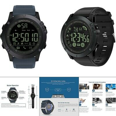 New T1 Tact - Military Grade Super Tough Waterproof Smart Watch Odograph IP68