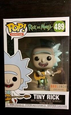 Funko POP! Rick and Morty #489 Tiny Rick Box Lunch Exclusive