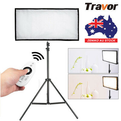 AU Travor Flexible Bi-Color 3200K~5500K LED Video Light Photography+Light Stand