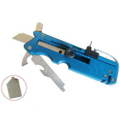 Multi-function Glass Tile Cutter Knife Blade Sharpener Plastic Cutting Tool New