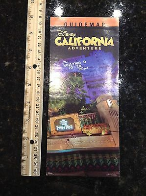 Disneyland California Adventure Tower of Terror Park Map and Guide