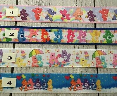 Care Bears each Design is sold by 2M  see listing for details- Hair, Cake,Clips