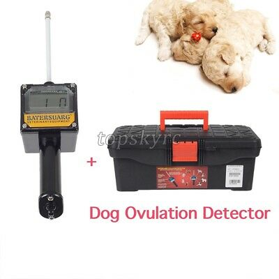 ts Dog Ovulation Detector Tester Pregnancy Planning Breeder Canine Mating +Case