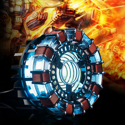 Arc Reactor DIY Model Kit LED Chest Light USB Powered Movie Props Friend Gifts
