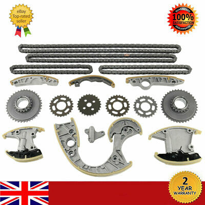 Timing Chain Kit For Audi A4 A5 A6 A8 Q7 Volkswagen Touareg Phaeton 2.7 3.0 Tdi