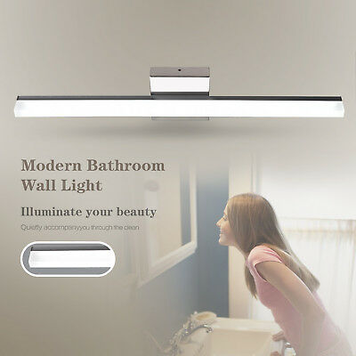 Modern LED Wall Mount Light Bathroom Vanity Front Mirror Lamp Toilet Fixture