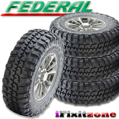4 Federal Couragia M T 265 70r17 121 118q 10ply Off Road White