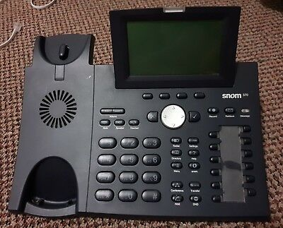 SNOM 370 VoIP IP PHONE (No Handpiece)