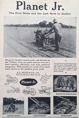 1947 Ad(Xb20)~Planet Jr. Seeders For Your Tractor