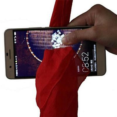 Attracting Girls' Attention! Scarf Through Phone Close-Up Stage Magic Trick RU