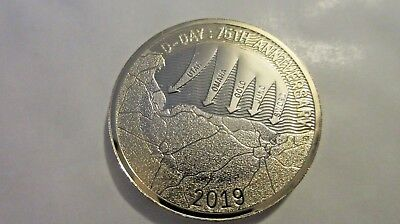 2019 75th Anniversary Of D Day Landings WW2, Two Pound Coin BU Uncirculated