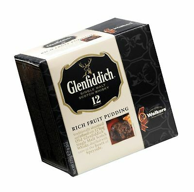 Walkers Shortbread Glenfiddich Rich Fruit Pudding, 8-Ounce Boxes (Pack of 2)