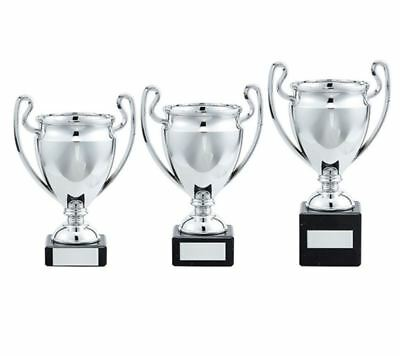 Silver Trophy Cup - FREE ENGRAVING - All Sports Awards , Competition Awards