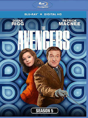 The Avengers: Season 5 (Blu-ray Disc, 2014, 3-Disc Set) brand new