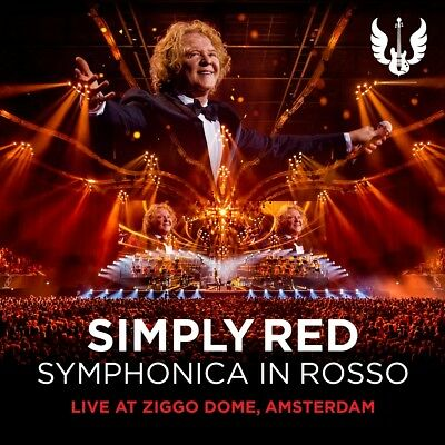 Simply Red - Symphonica In Rooso, 1 Audio-CD + 1 DVD