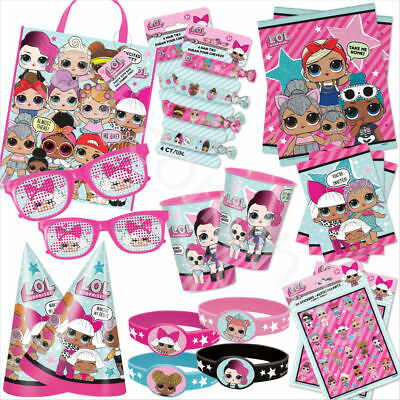 LOL Surprise Dolls Girls Birthday Party Favours Kids Childrens Party Bag Fillers