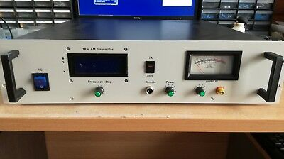 1000 Watt Max class D AM MW broadcast transmitter