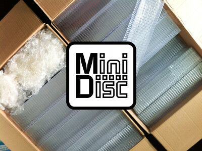 50x MiniDisc cases MD Mini Disk box (in compact disc style) I