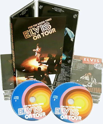 Elvis Presley - FOR THE GOOD TIMES 'Elvis On Tour' - 2 CD Boxset - New & Sealed