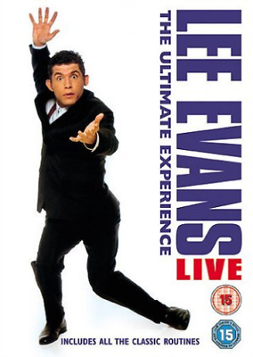 Lee Evans: The Ultimate Experience - Live DVD NUEVO