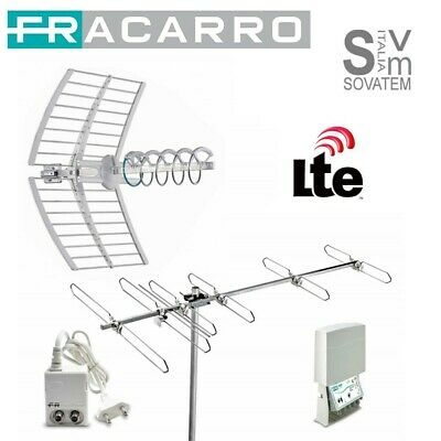 Kit Compelto Fracarro Digitale Kit8Lte Evo 217940 Elika+Blv6F-Map3R3+Minipower