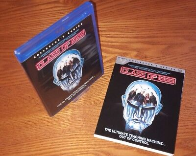 CLASS OF 1999 Blu-ray US import Vestron region a (rare OOP slipcover,no UK vrsn)